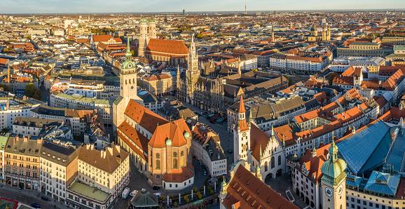 Munich「Munich old town」:スマホ壁紙(0)