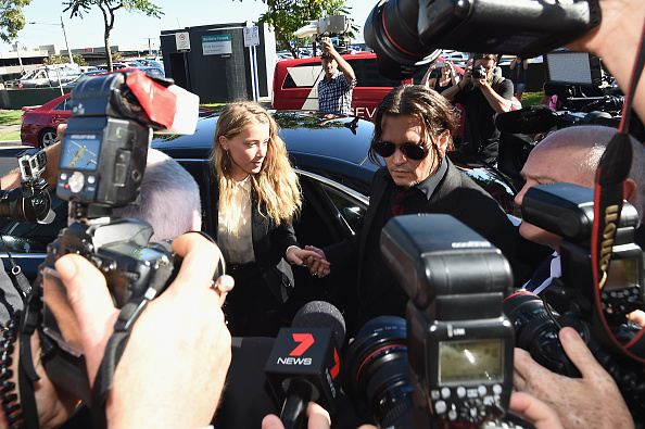 アンバー・ハード「Amber Heard Faces Trial In Gold Coast Court For Smuggling Johnny Depp's Dogs Into Australia」:写真・画像(12)[壁紙.com]