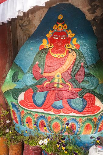 Namche Bazaar「Rock painting of Tara」:スマホ壁紙(13)