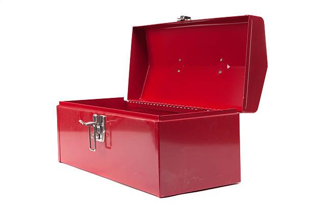 Open red dusty toolbox:スマホ壁紙(壁紙.com)