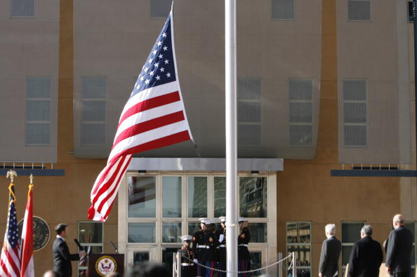 Baghdad「US Embassy Opens In Baghdad」:写真・画像(14)[壁紙.com]