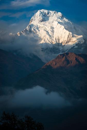 World Heritage「素晴らしいユキコ山のピーク Annapurna South ヒマラヤ山脈ネパール」:スマホ壁紙(6)