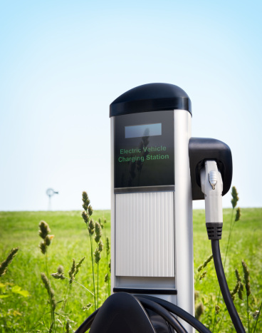 Wind Turbine「Electric Vehicle Charging Station」:スマホ壁紙(10)
