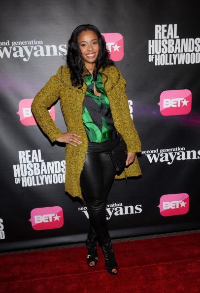 キンバリー・スチュワート「BET Networks New York Premiere Of 'Real Husbands of Hollywood' And 'Second Generation Wayans'」:写真・画像(14)[壁紙.com]