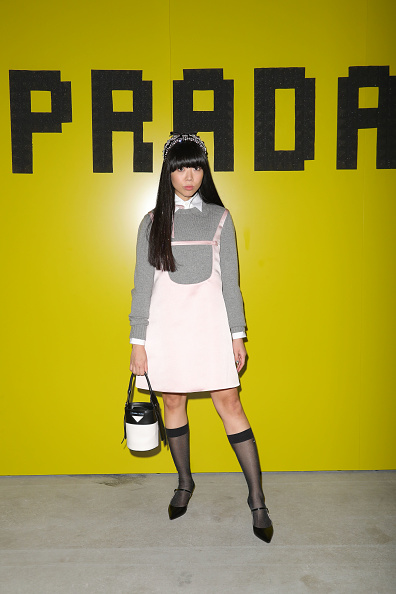 Mini Dress「Prada -Arrivals and Front Row: Milan Fashion Week Fall/Winter 2019/20」:写真・画像(16)[壁紙.com]