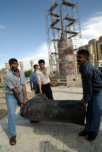 Baghdad「Freedom Statue To Replace Saddam Statue In Baghdad」:写真・画像(1)[壁紙.com]