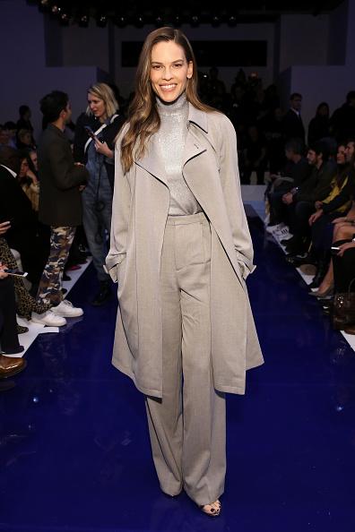 Turtleneck「Ralph Lauren - Front Row - February 2018 - New York Fashion Week」:写真・画像(6)[壁紙.com]