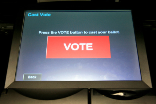 Voting Booth「Electronic Voting Ballot, Washington DC, USA」:スマホ壁紙(5)