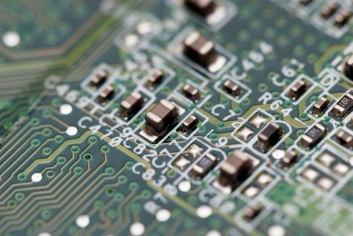 CPU「Electronic circuit abstract macro」:スマホ壁紙(15)