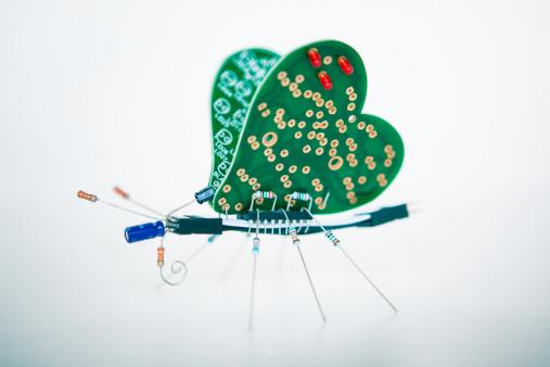Electronics Industry「Electronic Butterfly」:スマホ壁紙(8)