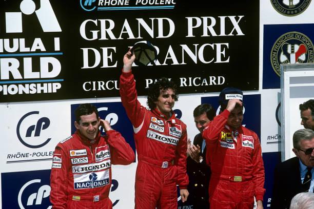 Alain Prost「Senna & Others At Grand Prix Of France」:写真・画像(19)[壁紙.com]