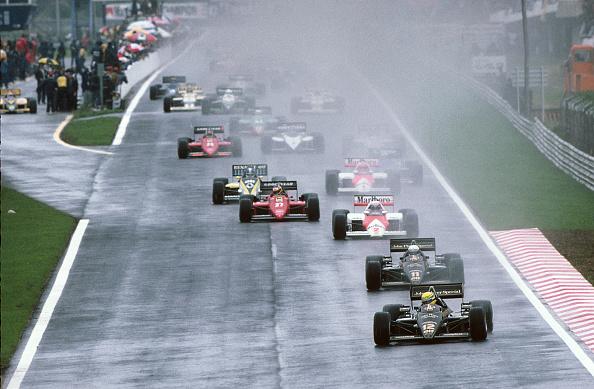 Portugal「Ayrton Senna, Elio De Angelis, Grand Prix Of Portugal」:写真・画像(5)[壁紙.com]