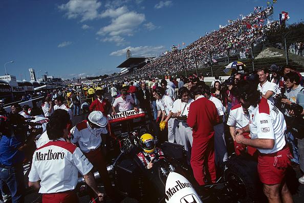 McLaren-Honda Racing Team「Ayrton Senna, Grand Prix Of Japan」:写真・画像(9)[壁紙.com]
