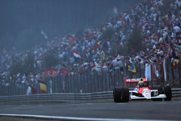 1990-1999「Ayrton Senna, Grand Prix Of Belgium」:写真・画像(12)[壁紙.com]