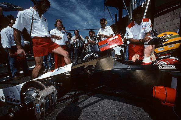 アイルトン・セナ「Ayrton Senna, Grand Prix Of Belgium」:写真・画像(13)[壁紙.com]