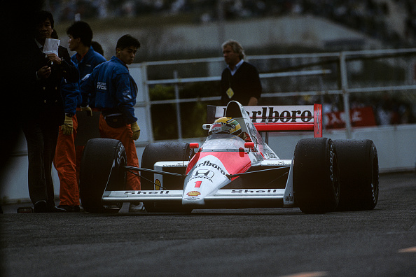 Japanese Formula One Grand Prix「Ayrton Senna, Grand Prix Of Japan」:写真・画像(6)[壁紙.com]