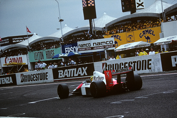 Japanese Formula One Grand Prix「Ayrton Senna, Grand Prix Of Japan」:写真・画像(17)[壁紙.com]
