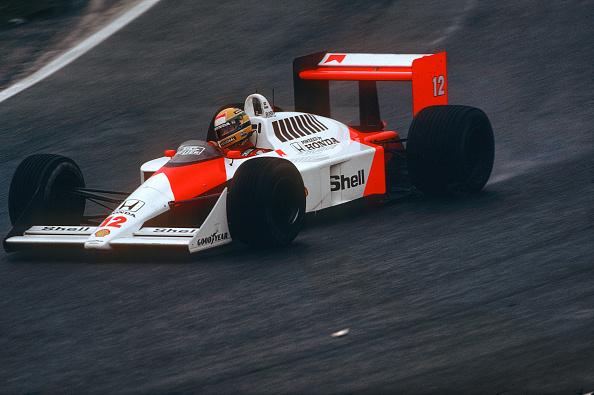 McLaren F1 Team「Ayrton Senna, Grand Prix Of Germany」:写真・画像(5)[壁紙.com]