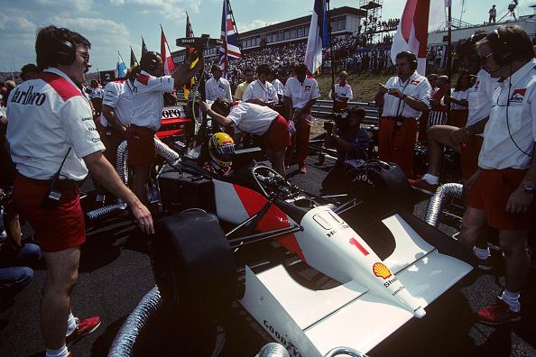 McLaren-Honda Racing Team「Ayrton Senna, Grand Prix Of Hungary」:写真・画像(6)[壁紙.com]