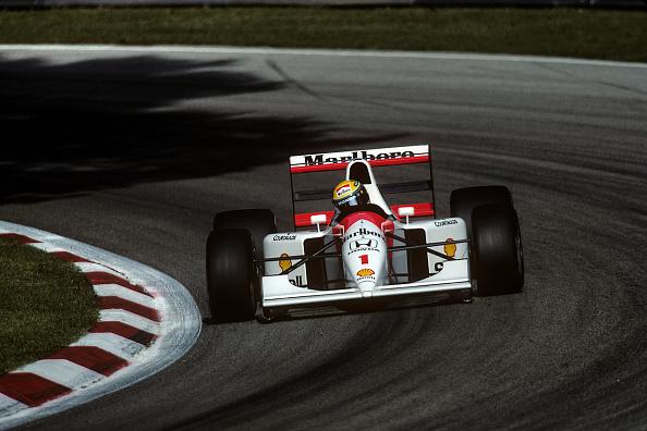 アイルトン・セナ「Ayrton Senna, Grand Prix Of Italy」:写真・画像(3)[壁紙.com]