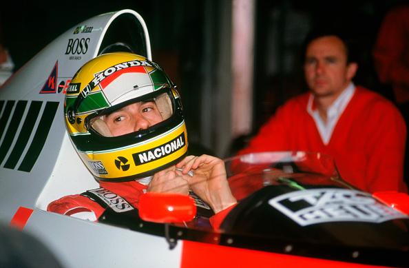 Siena - Italy「Ayrton Senna in the McLaren MP4-5 at 1989 British Grand Prix, Silverstone」:写真・画像(0)[壁紙.com]