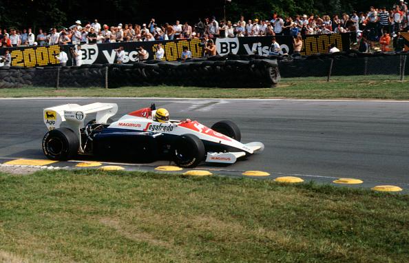 Siena - Italy「Ayrton Senna in the Toleman TG184 during 1984 British Grand Prix Brands Hatch」:写真・画像(4)[壁紙.com]