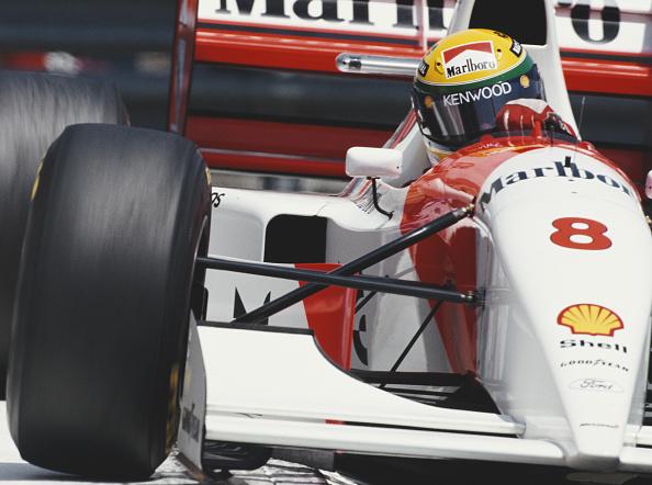 アイルトン・セナ「Grand Prix of Monaco」:写真・画像(1)[壁紙.com]