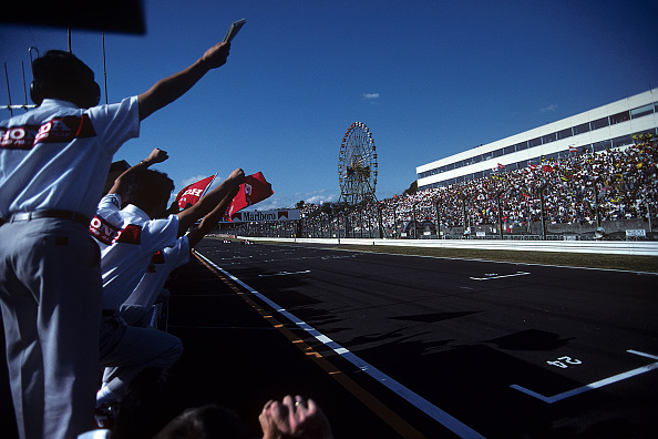 Japanese Formula One Grand Prix「Ayrton Senna, Gerhard Berger, Grand Prix Of Japan」:写真・画像(4)[壁紙.com]