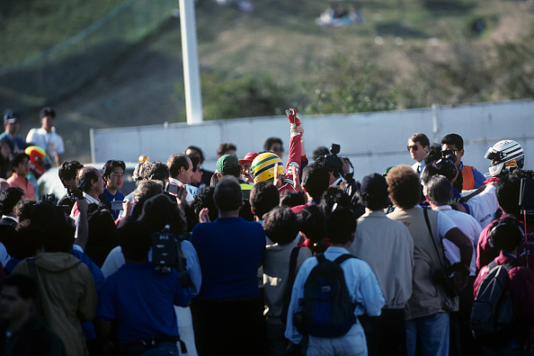Japanese Formula One Grand Prix「Ayrton Senna, Nigel Mansell, Grand Prix Of Japan」:写真・画像(10)[壁紙.com]