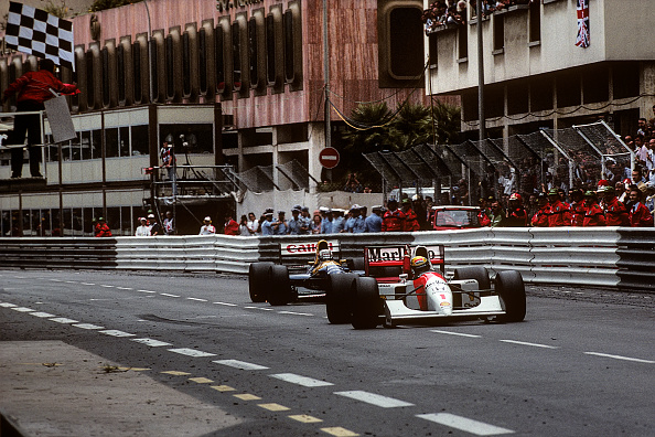 ナイジェル・マンセル「Ayrton Senna, Nigel Mansell, Grand Prix Of Monaco」:写真・画像(8)[壁紙.com]