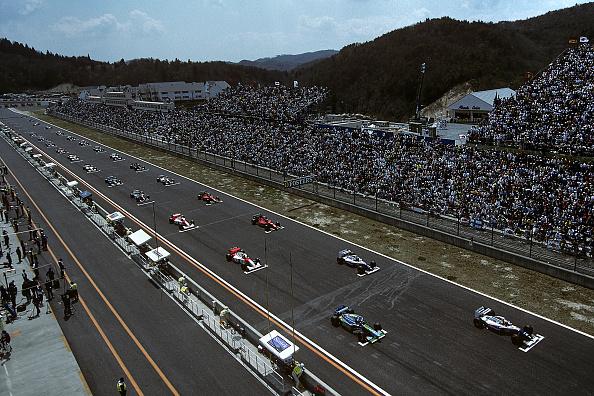 Grand Prix Motor Racing「Ayrton Senna, Michael Schumacher, Grand Prix Of Pacific」:写真・画像(1)[壁紙.com]