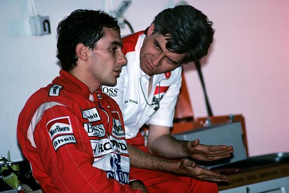 アイルトン・セナ「Ayrton Senna, Steve Nichols, Grand Prix Of Portugal」:写真・画像(8)[壁紙.com]