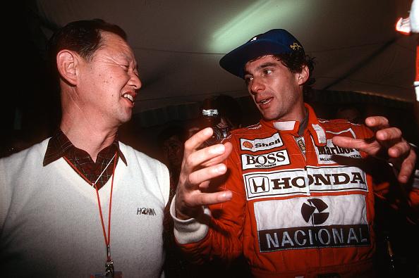 Japanese Formula One Grand Prix「Ayrton Senna, Nobuhiko Kawamoto, Grand Prix Of Japan」:写真・画像(3)[壁紙.com]