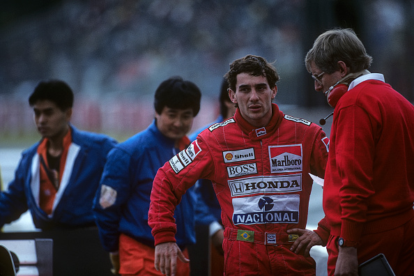 Japanese Formula One Grand Prix「Ayrton Senna, Grand Prix Of Japan」:写真・画像(15)[壁紙.com]
