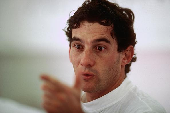1990-1999「Ayrton Senna, Grand Prix Of Great Britain」:写真・画像(4)[壁紙.com]