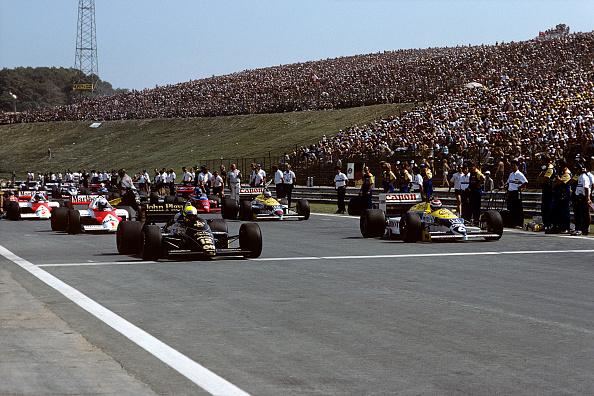 ハンガロリンク「Ayrton Senna, Nelson Piquet, Grand Prix Of Hungary」:写真・画像(1)[壁紙.com]