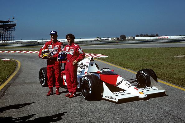 Alain Prost「Ayrton Senna, Alain Prost, Grand Prix Of Brazil」:写真・画像(7)[壁紙.com]