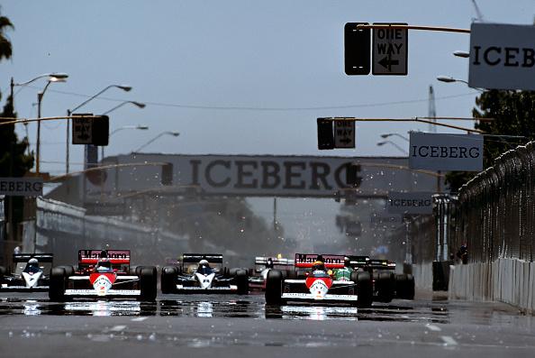 F1グランプリ「Ayrton Senna, Alain Prost, Grand Prix Of The United States」:写真・画像(12)[壁紙.com]