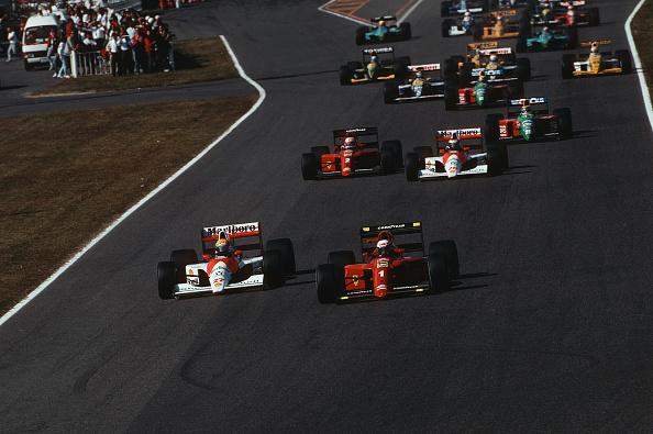 1990-1999「Ayrton Senna, Alain Prost, Grand Prix Of Japan」:写真・画像(11)[壁紙.com]