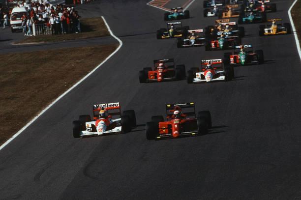 Ayrton Senna, Alain Prost, Grand Prix Of Japan:ニュース(壁紙.com)