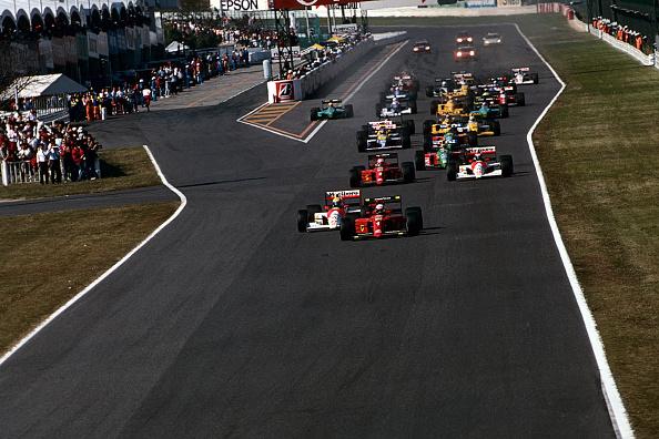 Japan「Ayrton Senna, Alain Prost, Grand Prix Of Japan」:写真・画像(19)[壁紙.com]