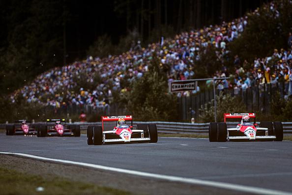 McLaren-Honda Racing Team「Ayrton Senna, Alain Prost, Grand Prix Of Belgium」:写真・画像(12)[壁紙.com]