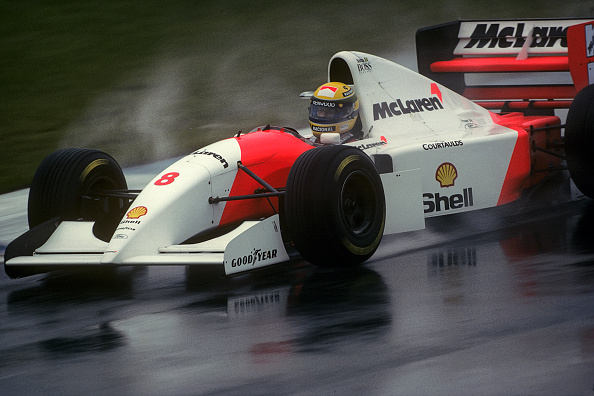 McLaren F1 Team「Ayrton Senna, Grand Prix Of Europe」:写真・画像(7)[壁紙.com]