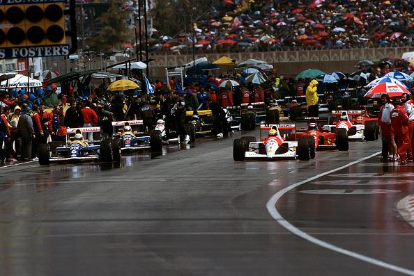 アイルトン・セナ「Ayrton Senna, Ricardo Patrese, Grand Prix Of San Marino」:写真・画像(19)[壁紙.com]