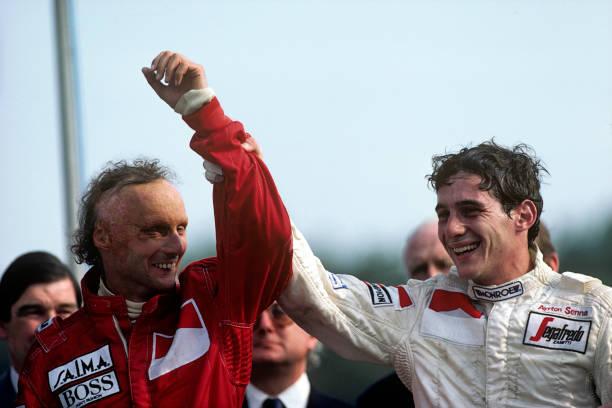 アイルトン・セナ「Ayrton Senna, Niki Lauda, Grand Prix Of Great Britain」:写真・画像(10)[壁紙.com]