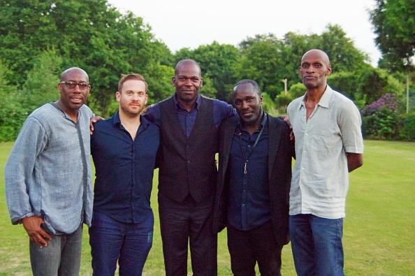 Basil「Larry Bartley, R Youngs, Q Collins, B Hodge and T Kofi, Watermill Jazz Club, Dorking, Surrey,  2015」:写真・画像(18)[壁紙.com]
