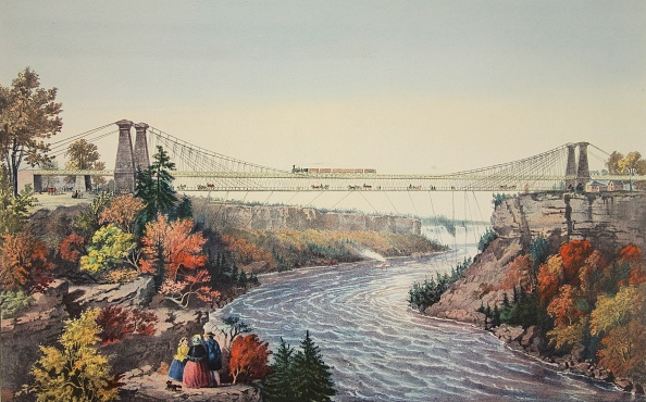 Tourboat「The Rail Road Suspension Bridge」:写真・画像(4)[壁紙.com]