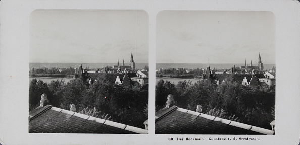 Architectural Feature「Lake Constance. Constance. About 1900. Stereophotograph.」:写真・画像(1)[壁紙.com]