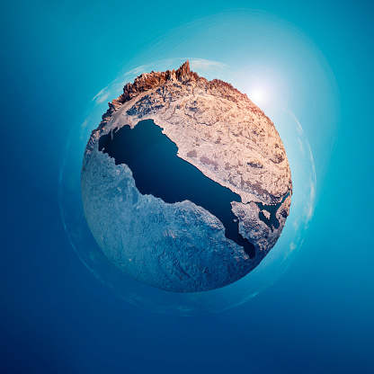 Austria「Lake Constance 3D Little Planet 360-Degree Sphere Panorama」:スマホ壁紙(7)