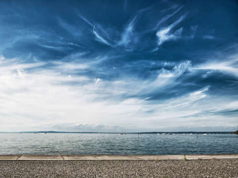 Switzerland「lake constance with dramatic sky」:スマホ壁紙(18)